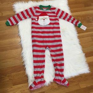 Carter's Fleece Christmas Holiday Pajama